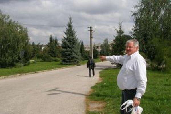 Podľa starostu Haydena bude upravený aj obecný park.