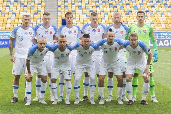 Futbalisti Slovenska.