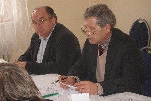 Za predsedu Mikroregiónu pod Marhátom bol zvolený Michal Toman (vpravo), podpredsedom je Jozef Balážik.