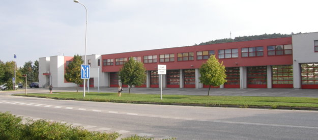 Nitrianska hasičská stanica.