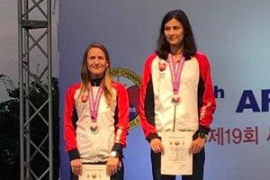 Janka Macinská (vľavo) aKatarína Košutová.