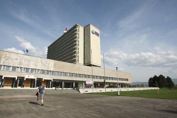 Budova Slovenskej národnej knižnice.