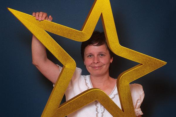 Helena Drobúlová (41), učiteľka chémie na Gymnáziu sv. Andreja vRužomberku.
