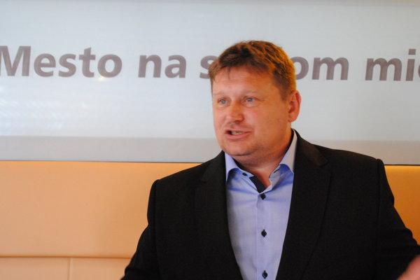 František Oľha, kandidát na primátora mesta Prešov.