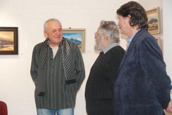 Peter Ondra s priateľmi.