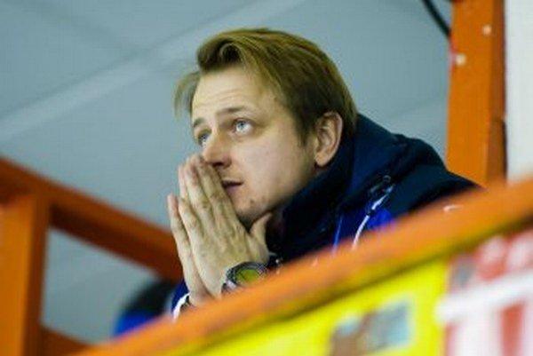 Martin Kalnický, manažér MHC Mountfield Martin.