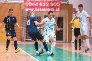 Futsalisti Levíc vdruhom kole extraligy nestačili na favorizovaný Wild Boys.