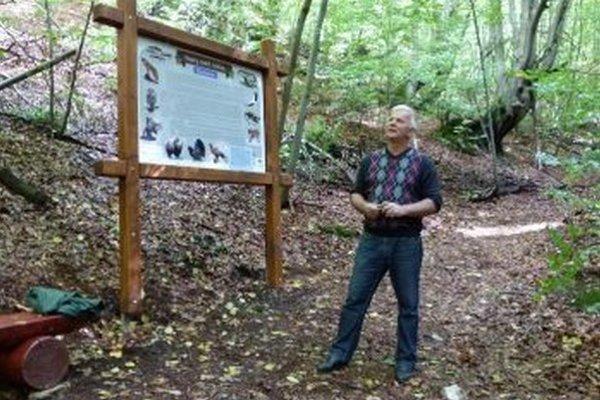 Starosta Krpelian Jaroslav Kráľ prišiel s myšlienkou vybudovať náučný chodník.