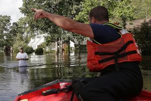 Hurikán Florence spôsobil veľké škody.