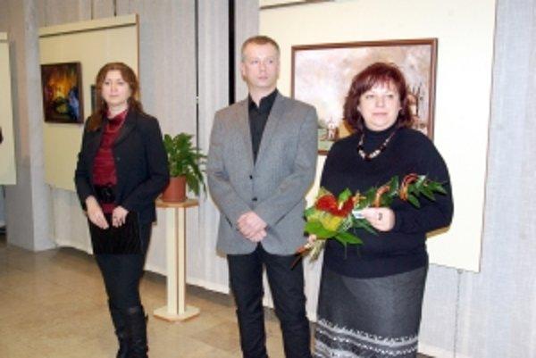 Ľubomír Zdurienčík sa prezentoval na svojej tretej výstave.