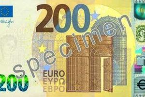 Na nových bankovkách 100 € a 200 € boli ochranné prvky zdokonalené a doplnené novými prvkami s cieľom umožniť rýchle spracovanie a overovanie pravosti bankoviek.