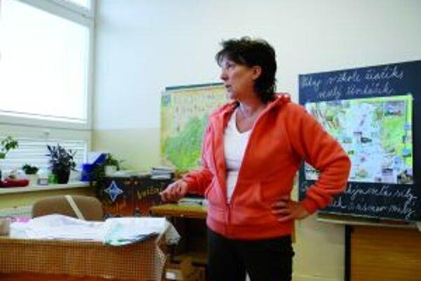 Učiteľkui matematiky Elenu Murčekovú by potešilo, keby sa opätovne zvýšil kredit učiteľov v spoločnosti.