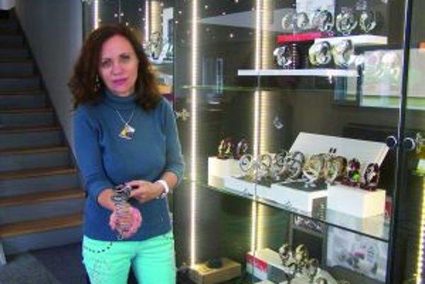 Jana Jamborová a šperky inšpirované Veľkou Moravou.