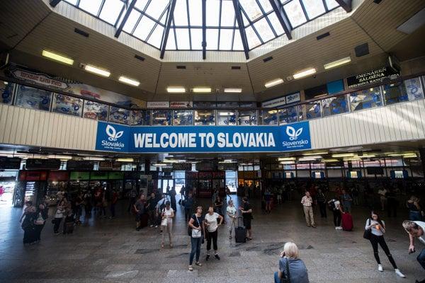 Bratislava, Hlavná stanica.