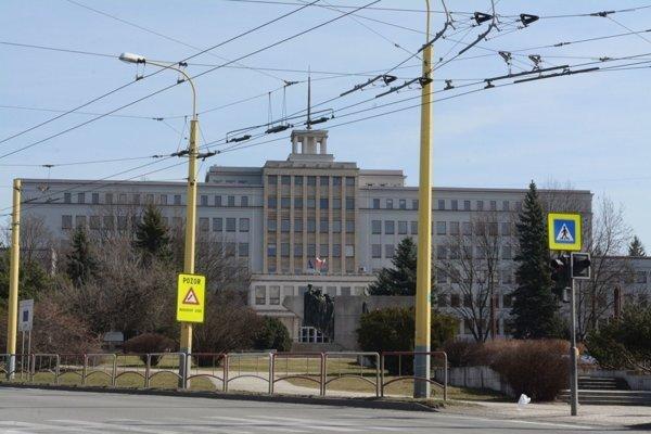 Sídlo Úradu Prešovského samosprávneho kraja.