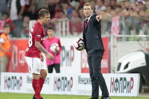 Tréner Spartaka Moskva Massimo Carrera.