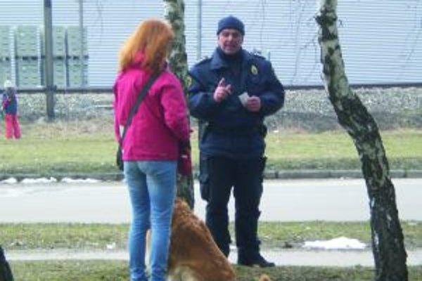 Martinskí mestskí policajti tentoraz pre represiou uprednostnili prevenciu.