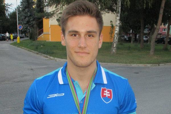 Kristián Slíž dal o sebe vedieť na MS juniorov.