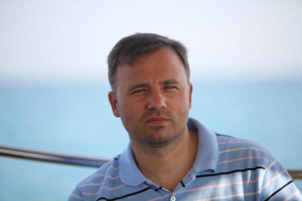 Ruský podnikateľ Valentin Vinogradov.