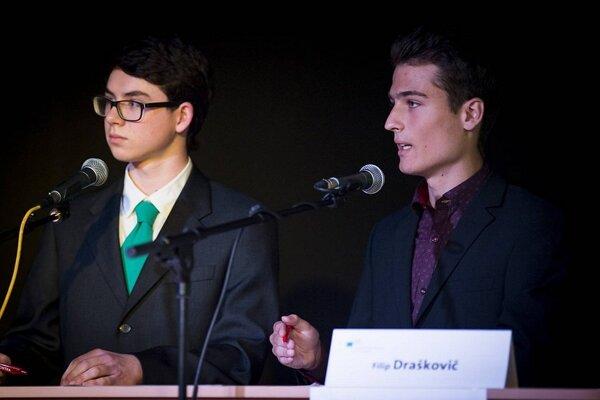 Filip (na foto vpravo) sa stal víťažom národného kola súťaže.