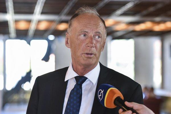 Podpredseda Slovenskej národnej strany (SNS) Jaroslav Paška.
