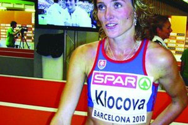 Lucia Klocová bola po barcelonskom finále unavená, ale odviedla dobrú robotu.