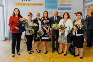 Ocenení odborníci s ministerkou Kalavskou.
