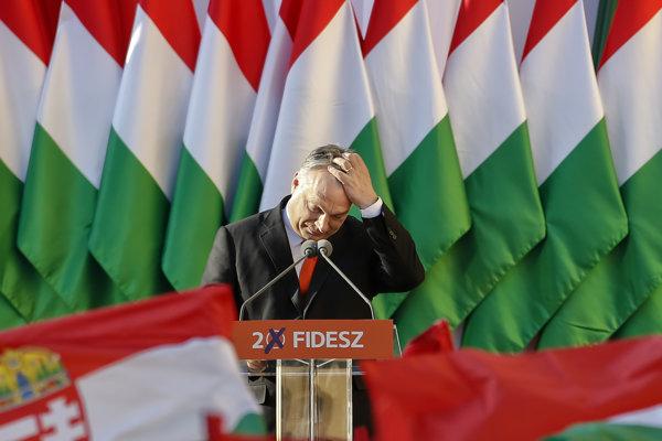 Maďarský premiér a predseda Fideszu Viktor Orbán.