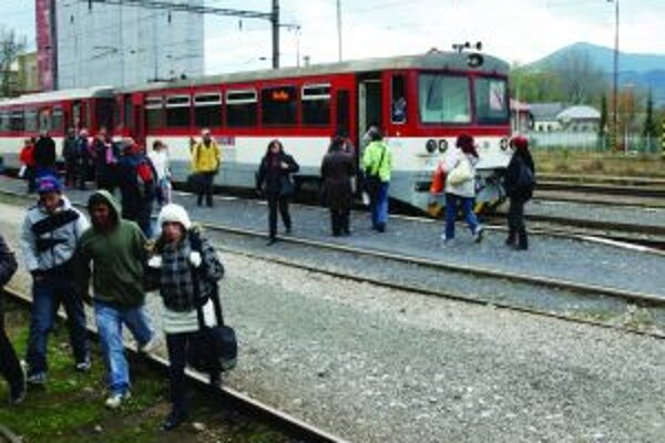 Za cestovanie vlakom si priplatíme.