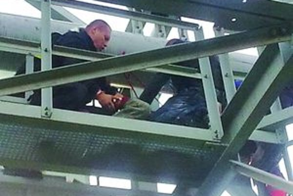 Andrej Kriska riskoval na potrubí vlastný život.