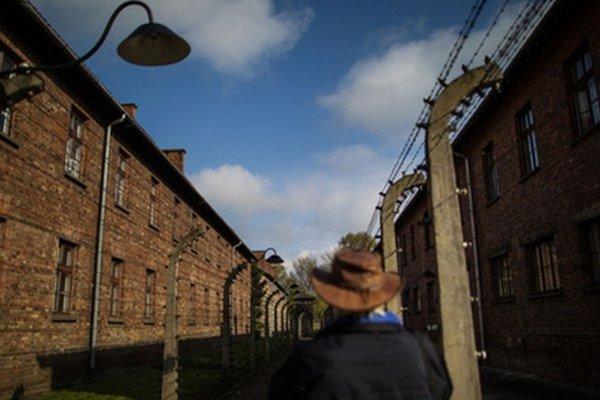 Koncentračný tábor v Osvienčime.