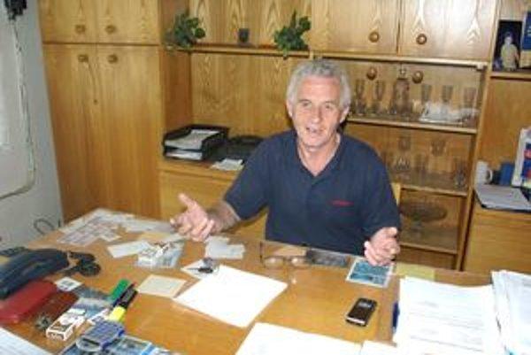Pavol Olšovský, starosta obce Krpeľany.