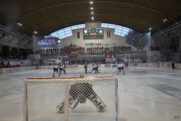 Záber zo štadióna DVTK