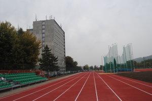 Vynovený športový areál v Prešove.