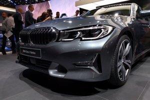 BMW radu 3 na autosalóne v Paríži