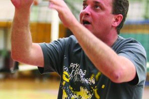 Peter Blahuta tréner TASK Martin.