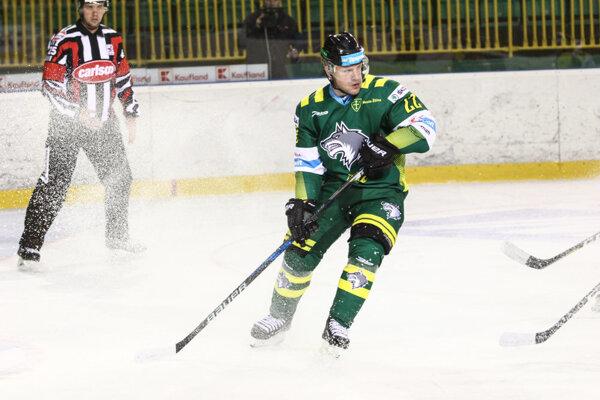 Lukáš Hvila má aktuálne na konte osem kanadských bodov.