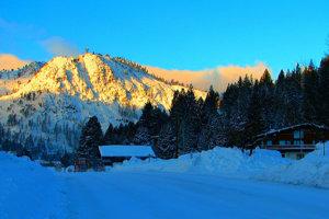 Lyžiarske stredisko Squaw Valley.