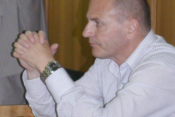 Hlavný kontrolór Marián Sičák.