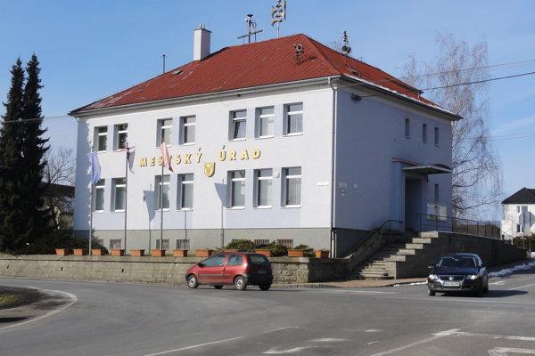 Mestský úrad v Sliači.
