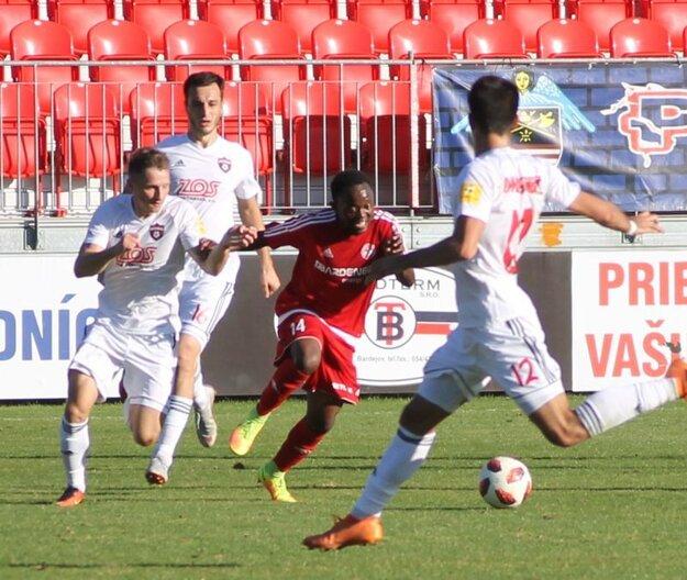 Trnavský Spartak nadelil domácim päť gólov.