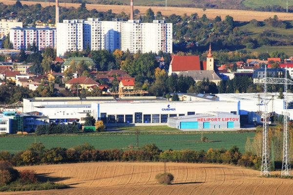 Spoločnosť Craemer Slovakia má sídlo v priemyselnej zóne Okoličné.