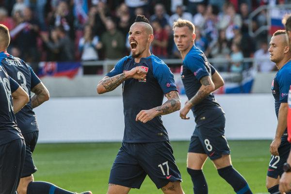 Marek Hamšík bude lídrom slovenského tímu v kvalifikácii o postup na ME 2020.