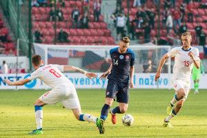 Milan Škriniar medzi hráčmi Česka.