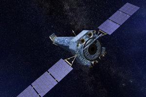 Umelecké zobrazenie vesmírneho ďalekohľadu Chandra.