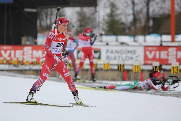 Najväčšia hviezda podujatia Nórka Tiril Eckhoffová.