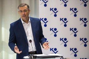 Predseda odborového zväzu (OZ) KOVO Emil Machyna