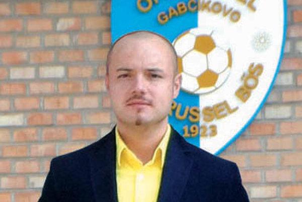 Majiteľ gabčíkovského klubu György Csörgö.