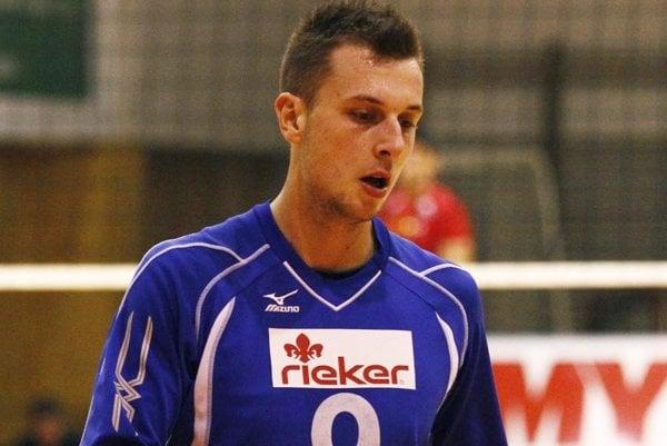 Jakub Hukel v Nitre volejbalovo vyrastal.
