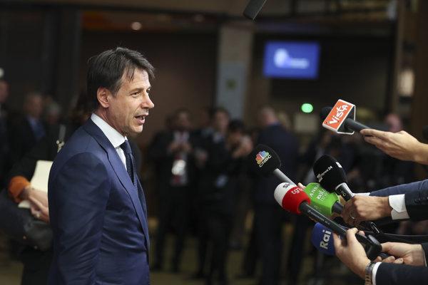 Taliansky premiér Giuseppe Conte. Kabinet počíta so zvýšením HDP o percento.